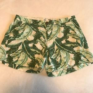 Pants - Old Navy Palm Leaf Print Shorts
